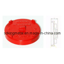FM / UL Listado Ductil Ferro Pn16 Grooved Cap