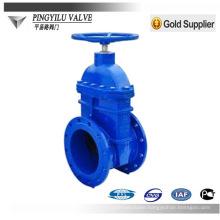 DIN standard PN10 PN16 non rising stem cast iron gate valve