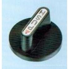 Botão de plástico, botão de fogão Ytp-06