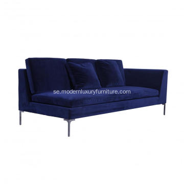 Modern Fabric Sofa Sectional hörn soffa