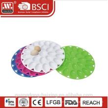 Doces plástico servindo de bandeja, bandeja de frutas de plástico, servidor de ovo