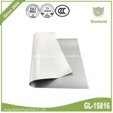 PVC-beschichtete Plane für Seitenvorhänge Silber
