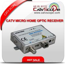 CATV FTTH Micro Receptor Óptico Receptor Nó