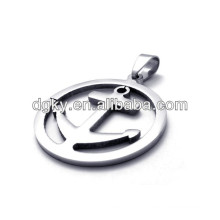 Pendentifs pendentifs en acier inoxydable en acier inoxydable