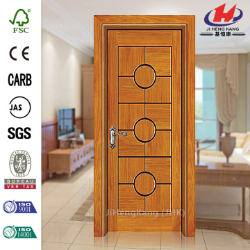 PVC Laminate Kitchen Cabinet Double Interior Doors