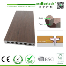 Co-Extrusion Hollow 2016 New WPC Flooring Board