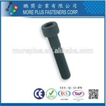 Maker in Taiwan Factory DIN912 Internal Hex Drive 304 Stainless Steel Socket Cap Screw