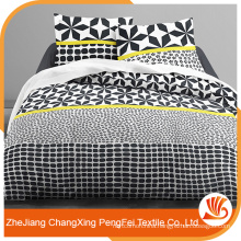 Special design printed polyester bedding sheet fabric for European