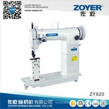 Zoyer Золотой колесо двойной иглы колонковые Прямострочные швейные машины (ZY820)