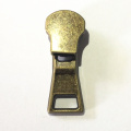 Antique Brass Autolock Boots Zipper Slider