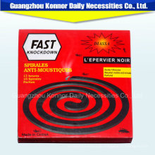 8 Burning-Time Smoke Free Non-Smoke Smokeless China Mosquito Coil