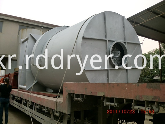 JRF series coal combustion hot air furnace in chemical industry