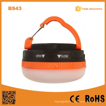 BS43 Plastic Camping Tent Suspension Lights Outdoor Fishing Lights