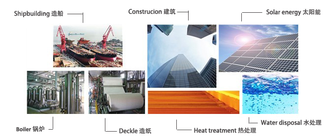 Yuhong Holding Group Products Applications 1