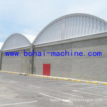 Bohai 1000-680 Arch Roof Building on Wall Machine