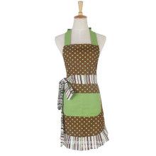 100%Cotton Fashion Women Print Cooking Kitchen Bib Apron