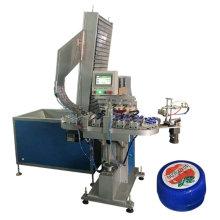 Automatische Kunststoffkappen-Druckmaschine