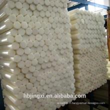 Feuille en plastique de POM d'isolation blanche de grande quantité