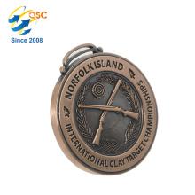 Freier Entwurfs-Fabrik-Preis Kundengerechter Marathon-Metallmedaillen-Produzent Kundenspezifische Metallmünzen-Medaille