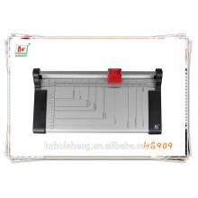 Cortador de cartão de identificação, cortador de guilhotina, venda de fábrica, para cortador de papel tamanho A4 HS 909. cortador de papel