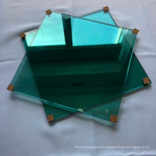 Decoration art glass wall picture float glass plant