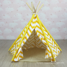 pets tent children playing outdoor teepee tent