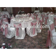 Polyester chair cover,hotel/banquet chair cover,chair sash