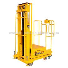 Semi-eléctrico Selector de pedidos aéreo selector de pedidos eléctrico Batería elevadora