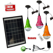 Produto da patente solar levou kit de iluminação, kit solar interior, inteligente solar iluminação