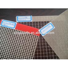 Venda quente resistente ao calor PTFE antiaderente Abrir correia de malha de arame para a máquina secador de têxteis