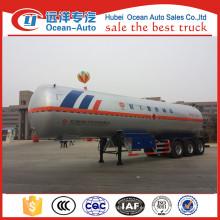 Proveedor de China 3 Ejes GLP Gas Tanker Remolque para la venta