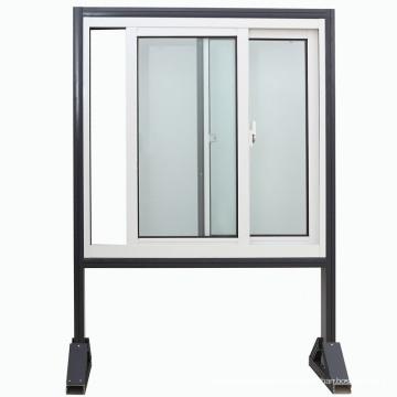 Neueste Design Doppelverglasung Aluminium Schiebefenster / Aluminiumfenster (KW1012)