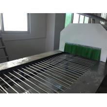 Linha de transporte de secagem de aço inoxidável linha de revestimento em pó