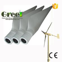 Lâmina de turbina de vento de eixo Horizontal de fibra de vidro com Ce e ISO