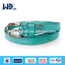 Ladies Fashion skinny Split Leather Belt