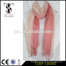 colorful winter fancy women 100% cotton fashion italian pashmina shawl scarf