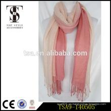 Bufanda italiana del mantón del pashmina de la manera 100% del algodón de las mujeres de lujo coloridas del invierno