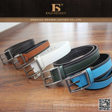 100% Cowhide Professional genuine fashion woman pu belt