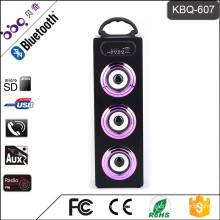 "KBQ-607 3"" inch 15W 1200mAh Loud Woofer Speaker With Bluetooth"