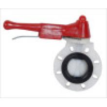 Пластиковый клапан-бабочка / PVDF-запорный клапан / Рычаг-бабочка