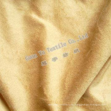 Cortina de ante de terciopelo en relieve poliester / tela del sofá (G69-19)