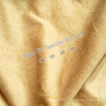 Polyester gaufré rideau de velours Suede / canapé tissu (G69-19)