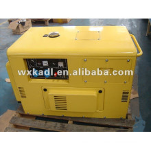 AC Single Phase 50Hz/8kw Key Start Silent Diesel Generator for Shop and Hotel Use
