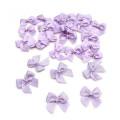 purple handcraft all size/style satin ribbon bow