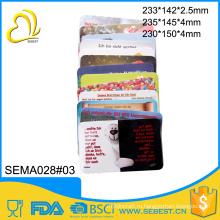 горячая распродажа различные стиль меламина квадратная пластиковая разделочная доска набор