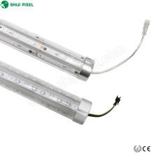 Tubo direccionable de píxel LED 3D para autos de choque paseos de atracciones 3D rgb led tubo de píxel barra led de barras de luz