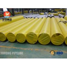 SA358 ASME / tubulação soldada TP316/316L de aço inoxidável ASTM A358