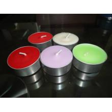 Luz colorida del té