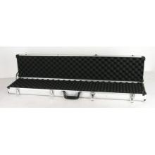 Boîtier à fusil à verrouillage en aluminium long