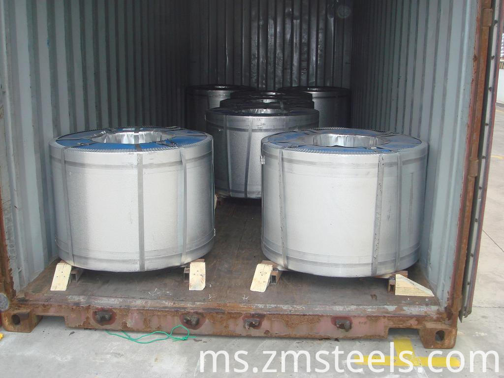 Package Of Galvanized Steel Coil
